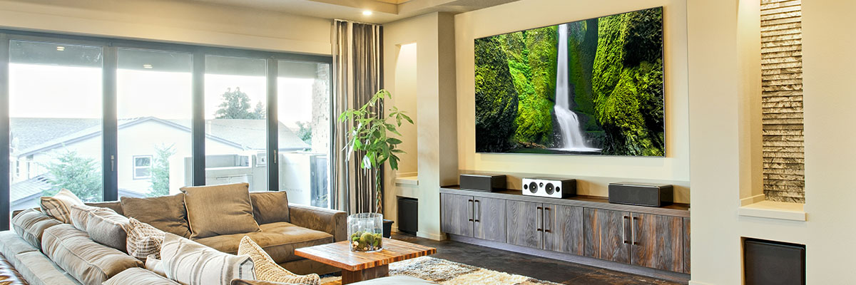Home Theater and Automation: Create the perfect home theater system. Automate your house entertainment, whole house audio, lights, shades, security cameras and more!